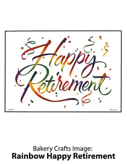 Congratulations On Your Retirement Clipart