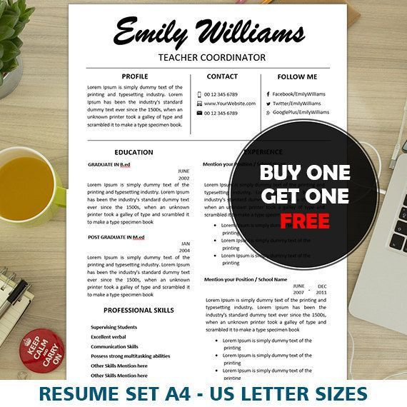 33 best Resume images on Pinterest | Teacher resumes, Teacher ...