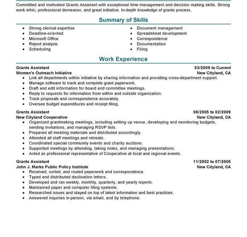 Download Perfect Resume Example | haadyaooverbayresort.com
