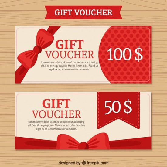22+ Best Free Gift Voucher Templates In PSD