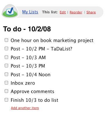 How to Organize Ideas Using Online Checklists - The Simple Dollar