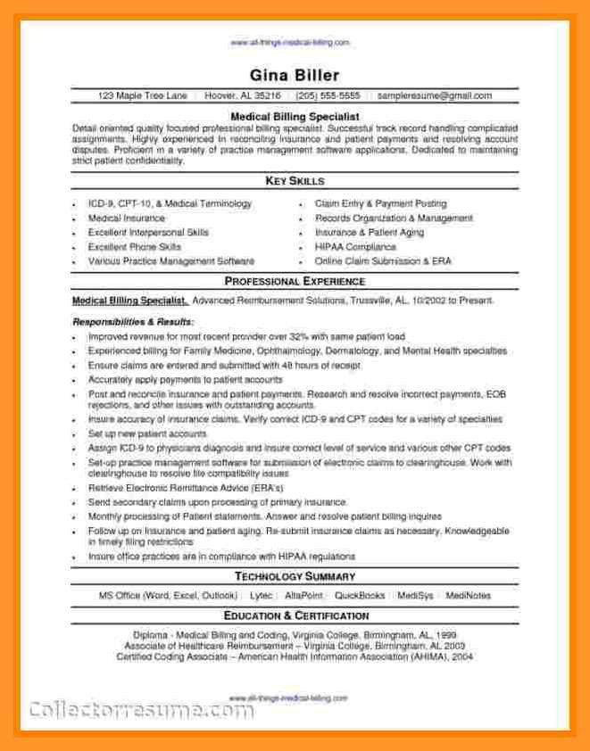 medical coder resume no experience | sop example