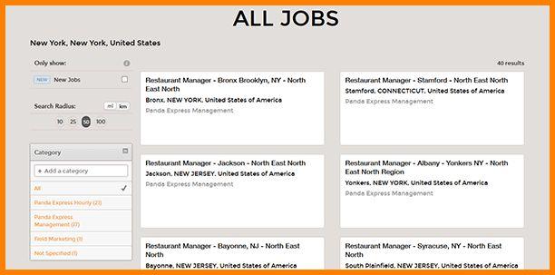 11+ panda express job application | agile resume