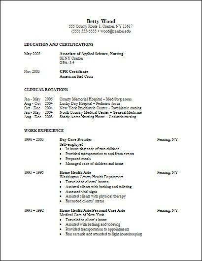 new nurse resume example of new graduate nurse resume graduate rn