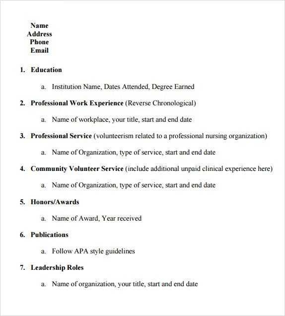 Resume Templates College Student. Sample Academic Resume Template ...
