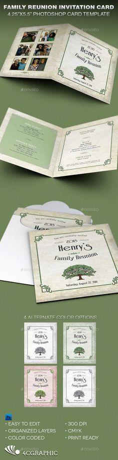 Family Reunion Planners | Family reunion banquet program template ...