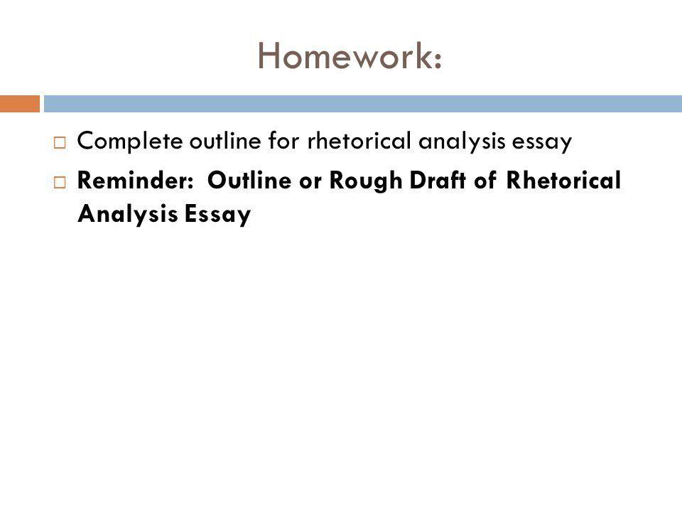 Rough draft essay format