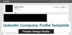 Free LinkedIn Company Profile Template | Cavus Media Daily Blog