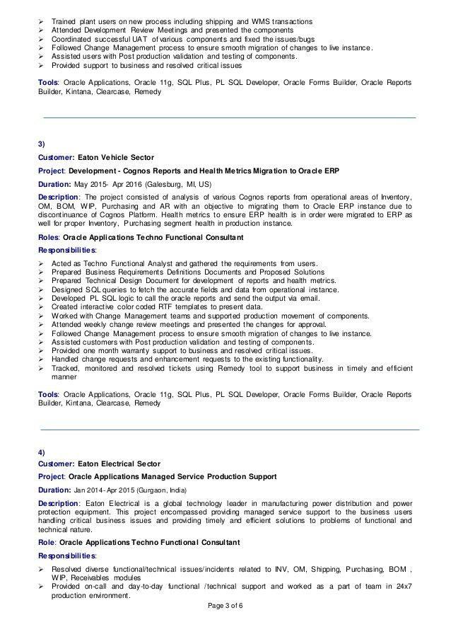 oracle functional consultant resume cv jagdish utwani updated