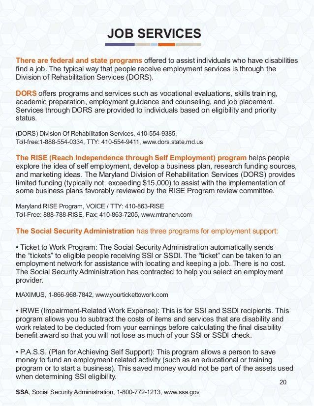Service Coordination Overview Brochure