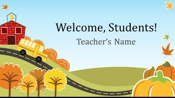Free Elementary School Teacher Template for PowerPoint Online ...