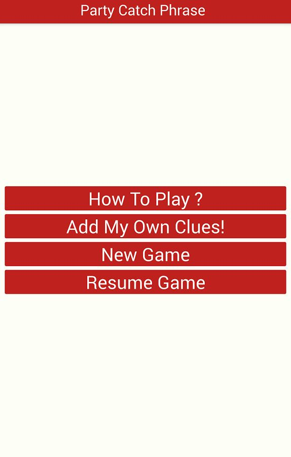 Party Catch Phrase Free - Android Apps on Google Play