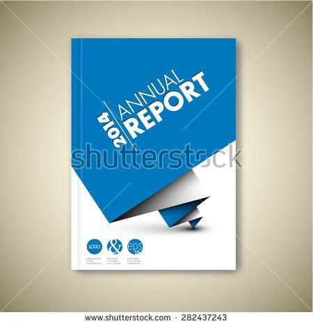 Annual Report Cover Stock Images, Royalty-Free Images & Vectors ...