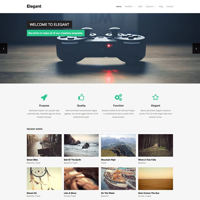 Elegant Free WordPress Theme - WPExplorer