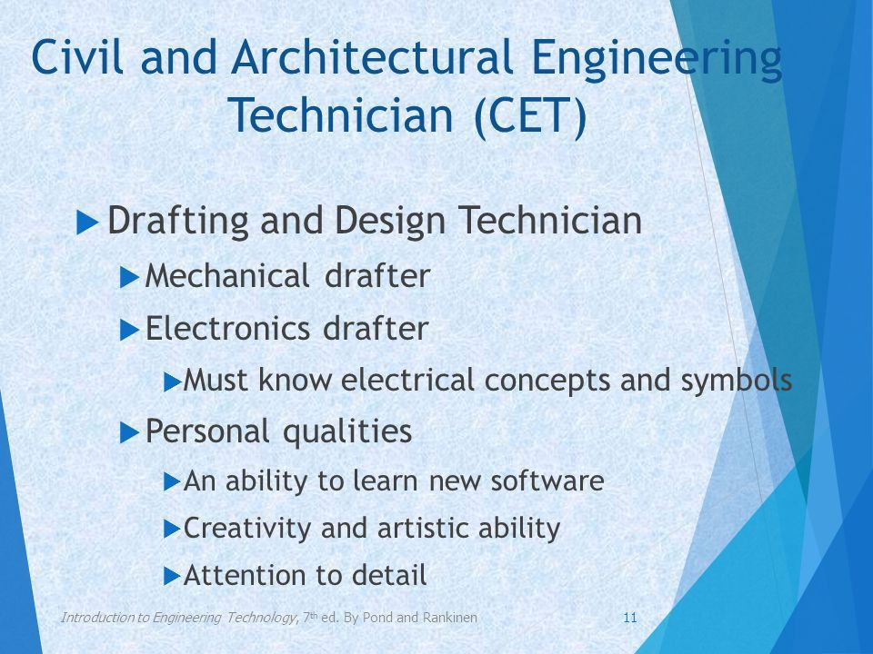 Chapter 2 Career Choices in the Engineering Technologies - ppt ...