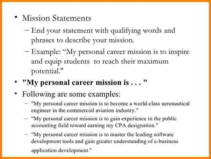 6+ personal branding statement examples | Case Statement 2017