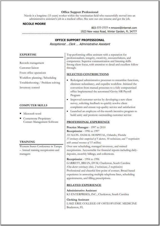 Premade Resumes Free. free resume builder job seeker tools resume ...