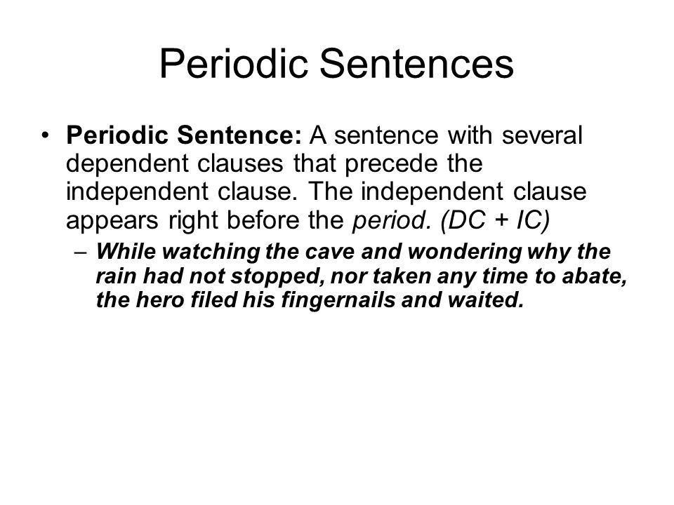 Basic Syntax Analysis Yes, sentences affect rhetoric, too! - ppt ...