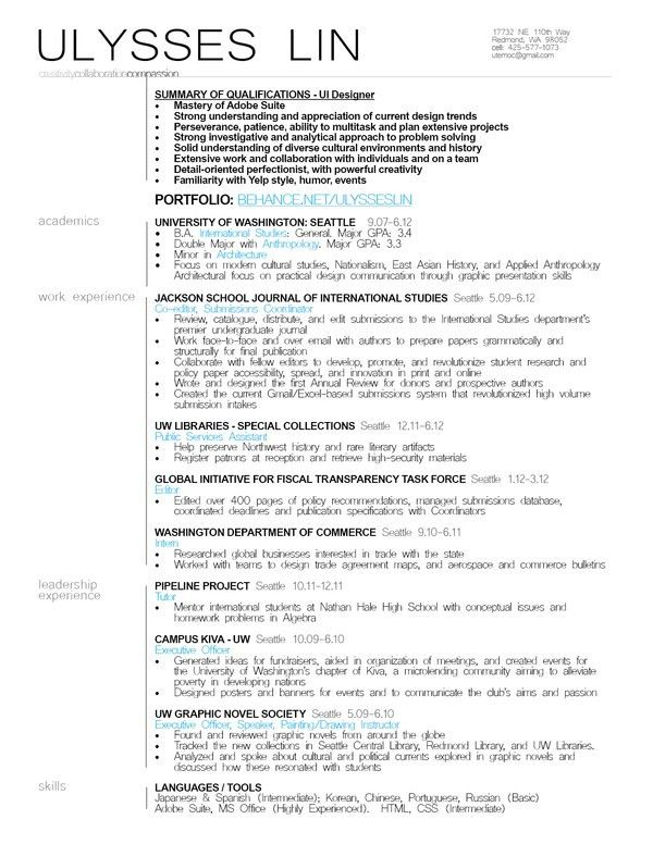Download Ui Designer Resume | haadyaooverbayresort.com