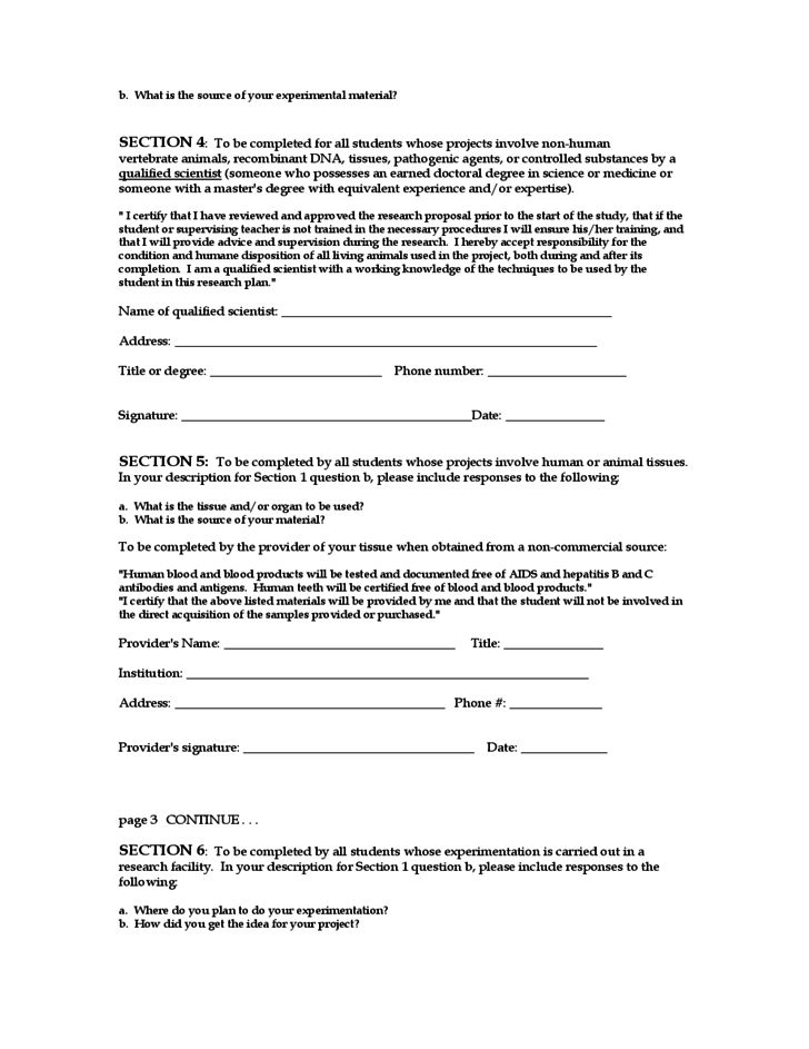 Construction Proposal Form Free Download