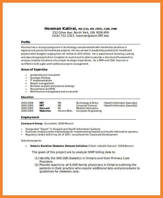 Computer Science Resumes. Strong Resume Headline Examples Also ...