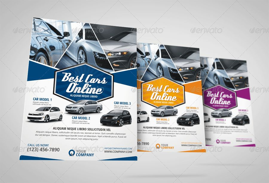 Automotive Car Sale Rental Flyer Ad by Jbn-Comilla | GraphicRiver