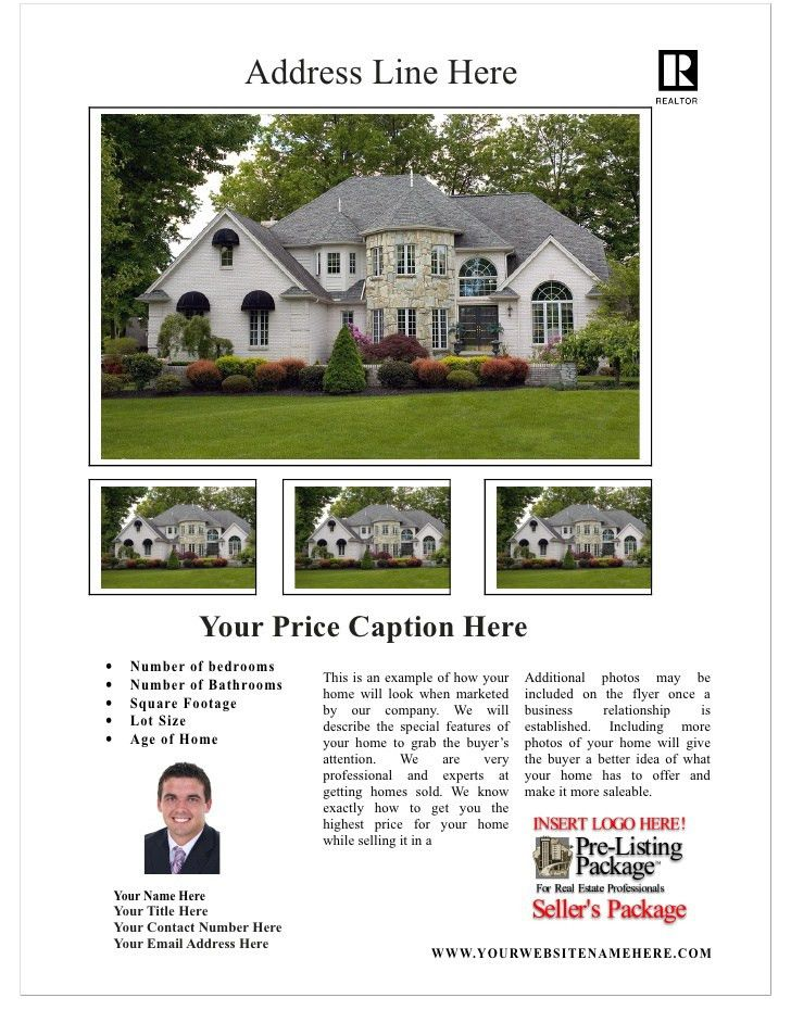 Free Real Estate Flyer Template 2
