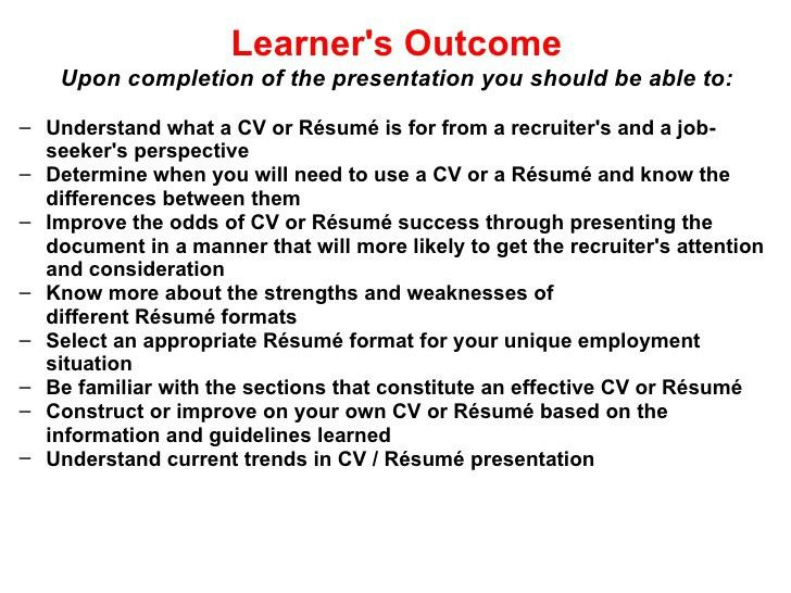 Download Effective Resume Writing | haadyaooverbayresort.com