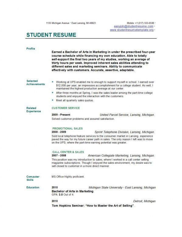 kids can apply for jobs in the first time resume for teens and ...
