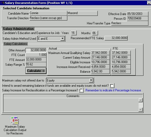 HRIS-Reclassifications