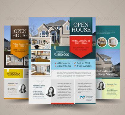 20 Open House Flyers Templates – Design Blog