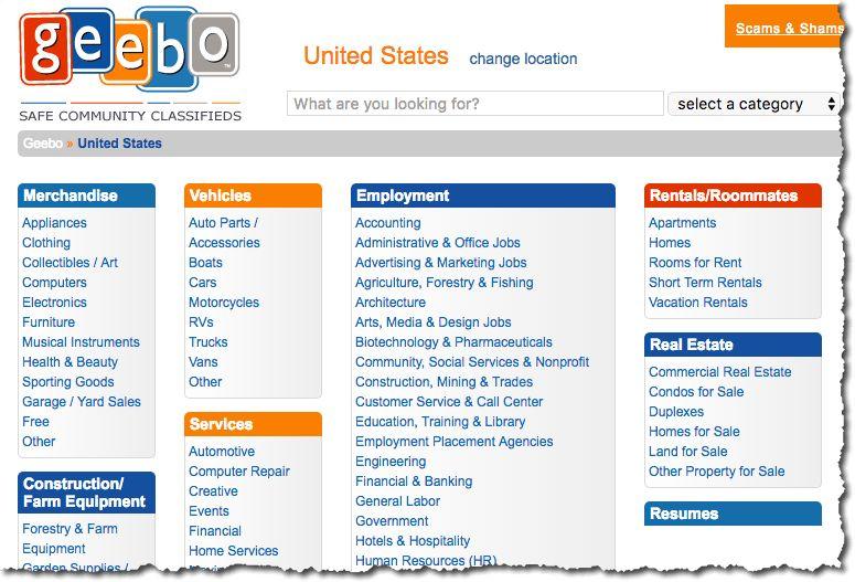 Geebo | Job Board Consulting - job boards consultant