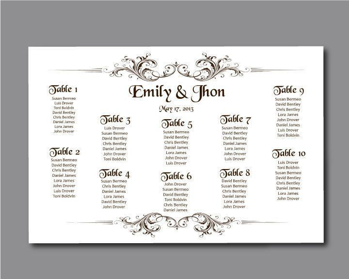 17 best Wedding seating chart ideas! :) images on Pinterest ...