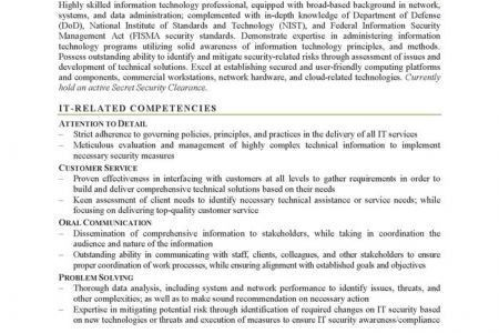 Information Security Specialist Resume. resume examples monster ...