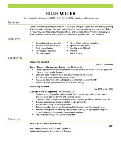 sample resume for accounts receivable unforgettable accounts