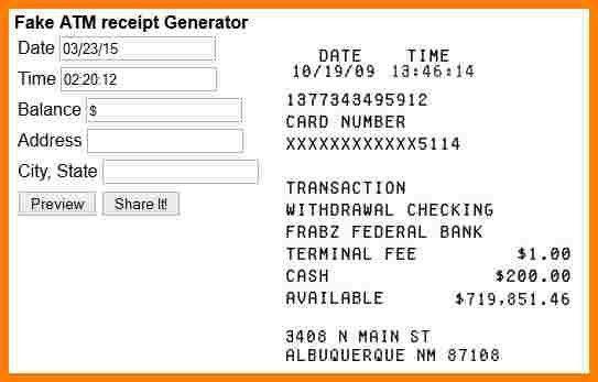 How Do You Make A Receipt   Samples.csat.co