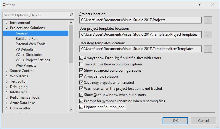 Visual Studio 2017 15.0 Release Notes