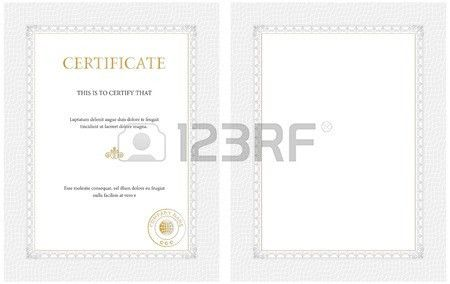 Certificate Of Excellence Stock Photos. Royalty Free Certificate ...