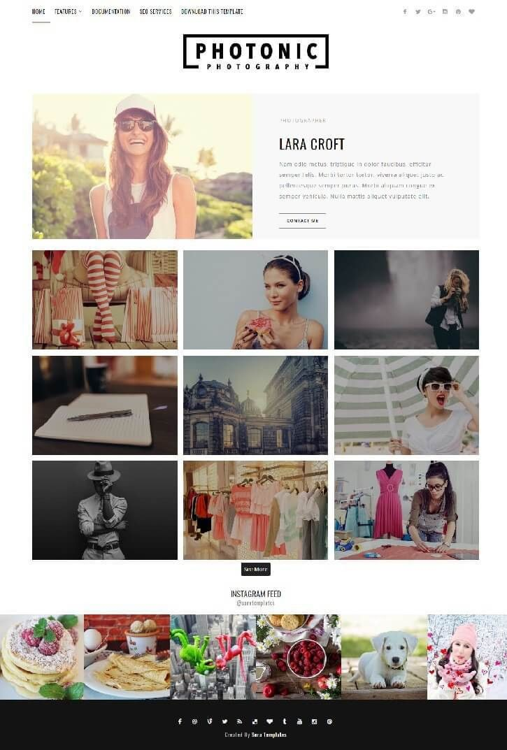 50+ Free Fashion Blogger Templates For Fashion Blogs - Bloggers Origin