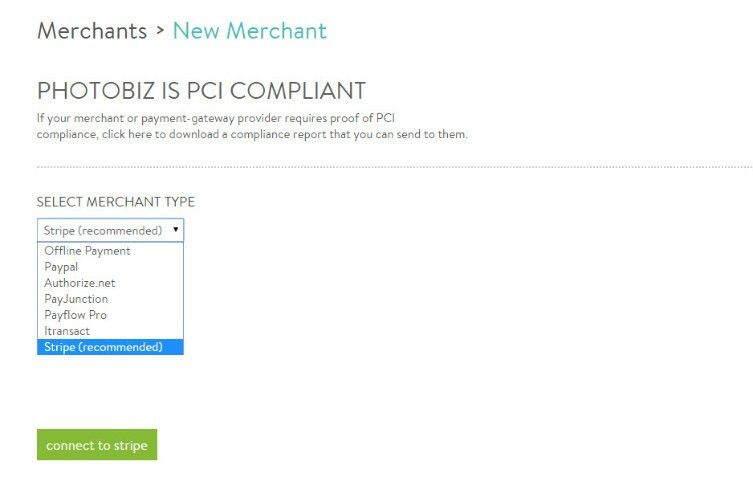 How do I set up a new merchant? - PhotoBiz Support Hub