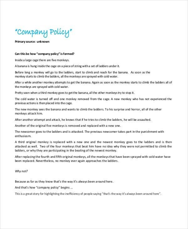 Free It Policy Templates. sample return policy for ecommerce ...