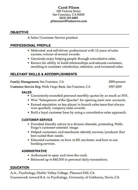 Resume Good Example. Good Example Of Resume Resume Good Example ...