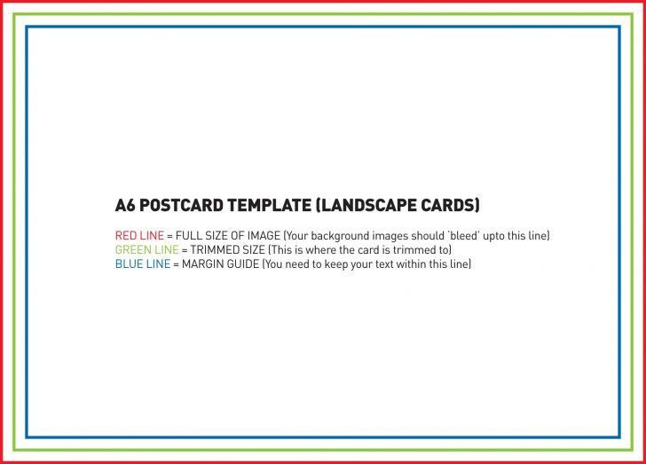 Postcard Size Template Psd | pikpaknews
