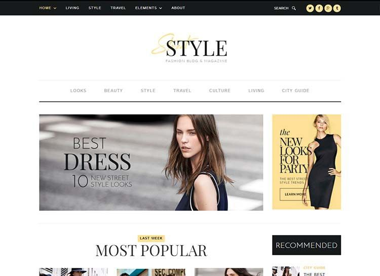 21+ Best WordPress Fashion Blog Themes for 2017 - Siteturner