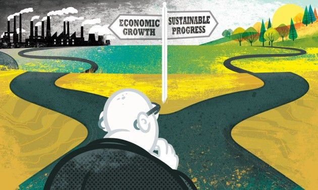 Development: Time to leave GDP behind : Nature News & Comment
