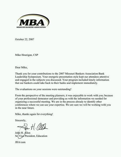 Nice Sample Mba Recommendation Letter. 8+ Letters Of Recommendation For .