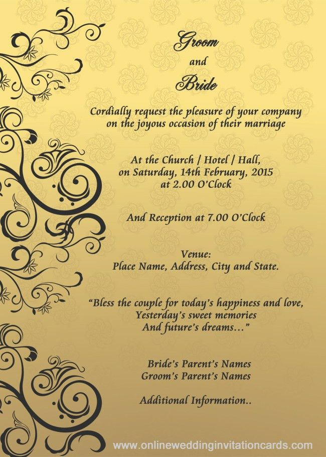 Wedding Invite Email | PaperInvite