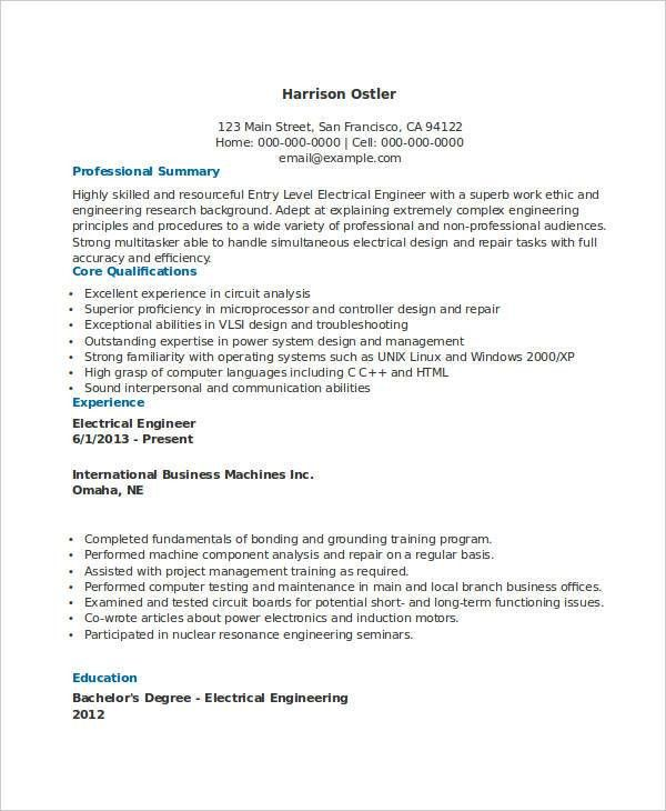 Download Nuclear Engineer Sample Resume | haadyaooverbayresort.com