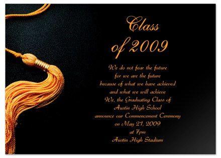 Graduation Invitation Templates Free - marialonghi.Com