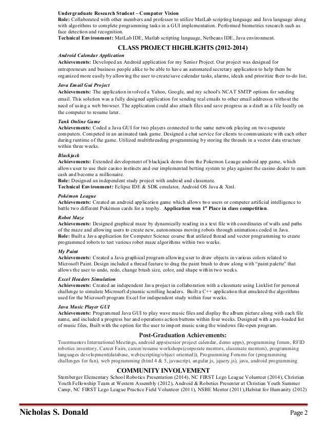 Nicholas S Donald 04_15_15 (update resume)(Web & Mobile Resume)